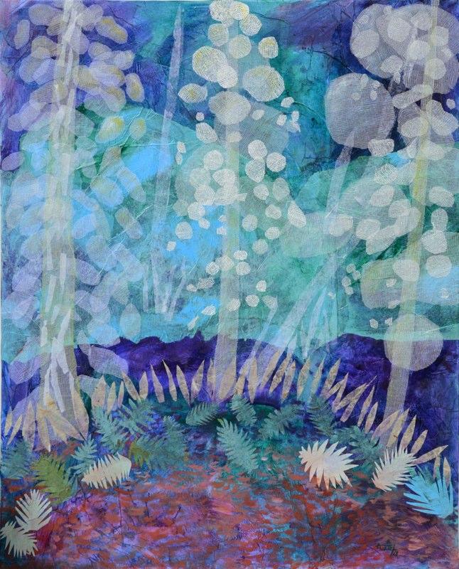 Les sapins bleus de Valérie Auriel