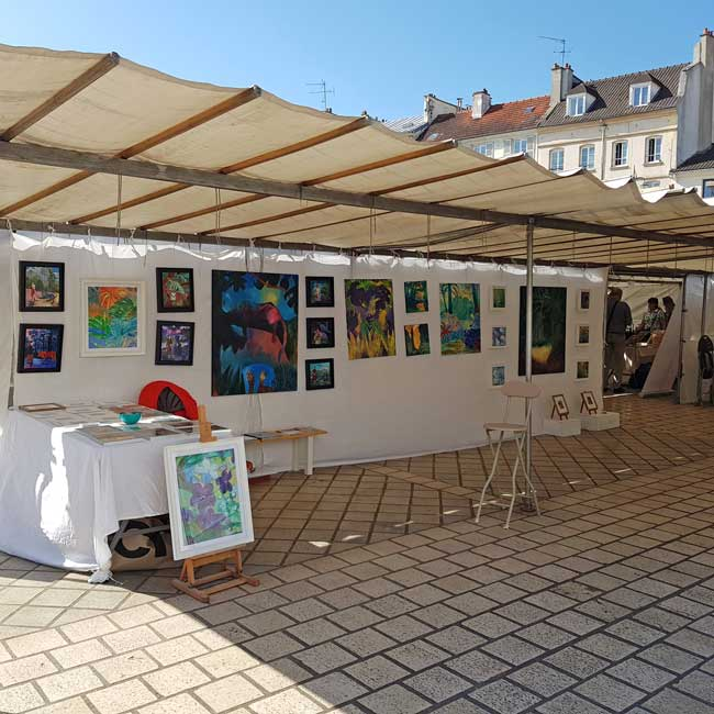 Marché de l'Art de Saint-Germain-en-Laye 2019
