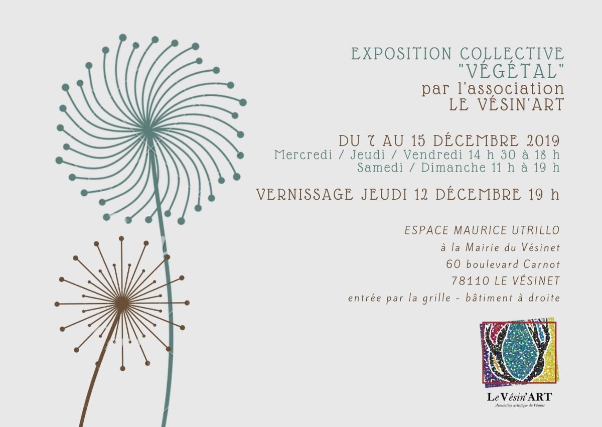 Exposition Végétal Le Vésin'art