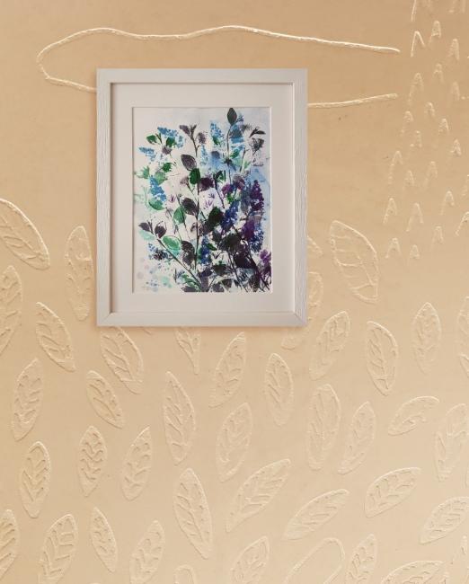 Buisson violet