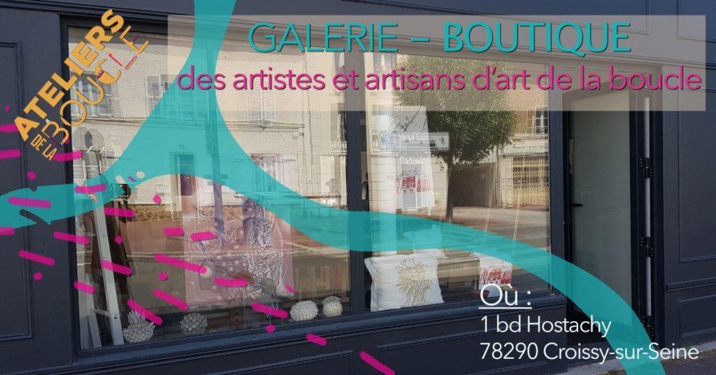 Boutique éphémère des Artistes et artisans d'art de la Boucle