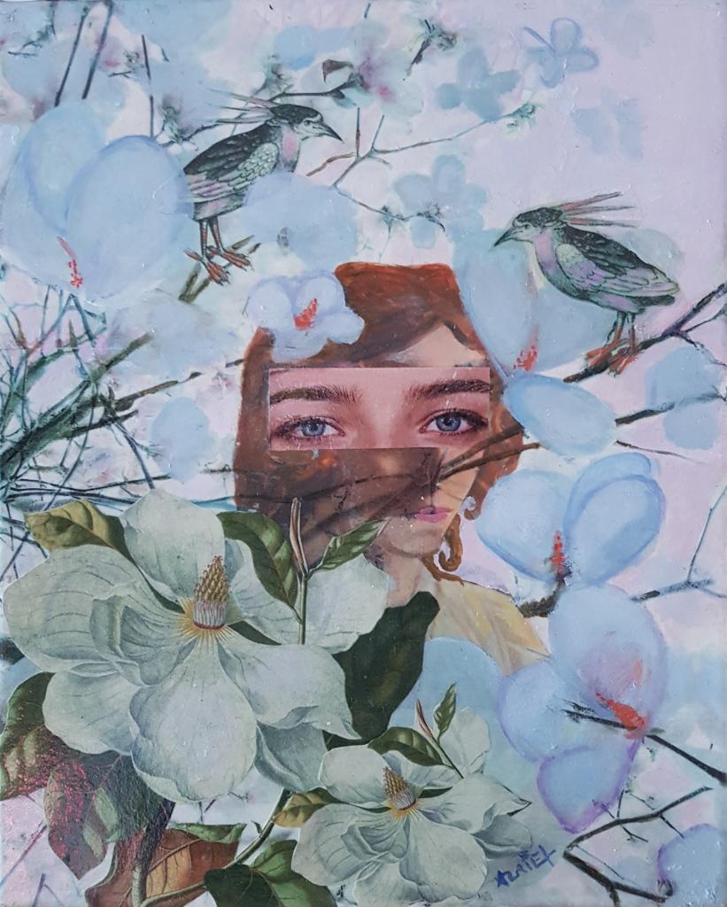 La jeune fille aux magnolias de Valérie Auriel
