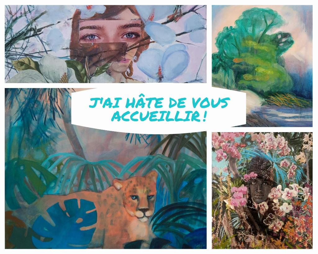 Bienvenue aux portes ouvertes de l'atelier de Valérie Auriel