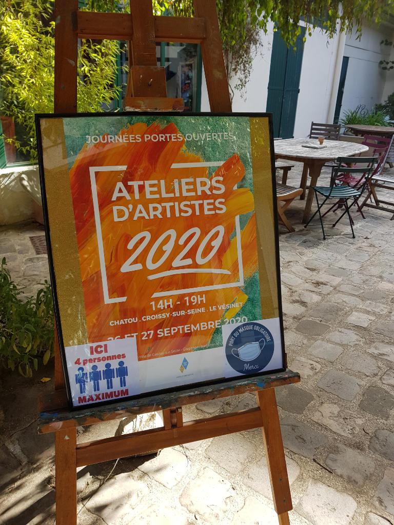 Portes ouvertes des ateliers d'artistes du Vésinet